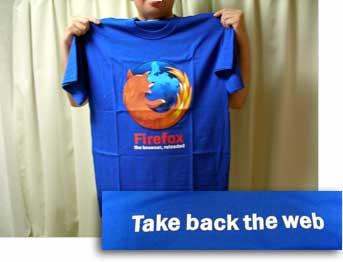 FireFox Tシャツ