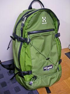 HAGLOFS INCASE 15(緑)買いますた