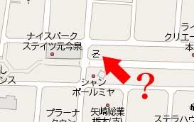 謎の地図記号