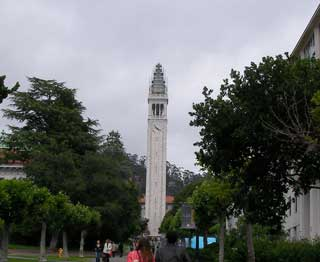 Sather Tower(工事中)
