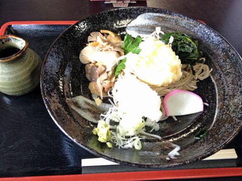 辛み餅蕎麦。餅+大根おろし( ゜д゜) ウマー